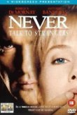 Never Talk to Strangers DVD Release Date