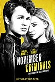 November Criminals DVD Release Date