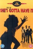 She's Gotta Have It DVD Release Date