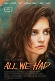All We Had DVD Release Date