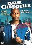 Dave Chappelle: For What It's Worth DVD Release Date