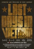 Last Days in Vietnam DVD Release Date