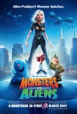 Monsters vs Aliens DVD Release Date