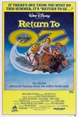 Return to Oz DVD Release Date