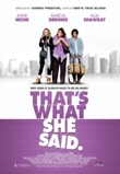 That's What She Said DVD Release Date