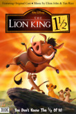 The Lion King 1 1/2 DVD Release Date